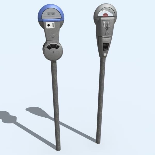 maya parking meters
