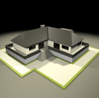american neighborhood house 3d 3ds