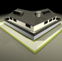 american neighborhood house 3d 3ds