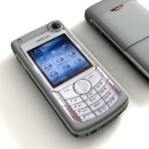 3d nokia 6680 model