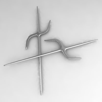 3d nunti asian weapon