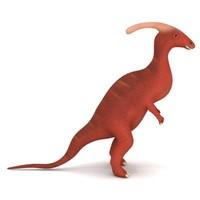 3d model dinosaur parasaurolophus