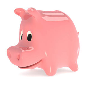 lightwave piggy bank
