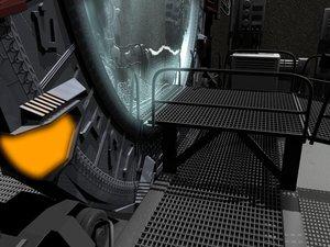 scene stargate 3d model