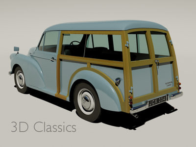 Traveller Car 3d Model