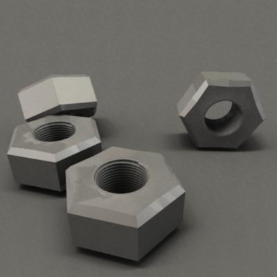 3d nuts model