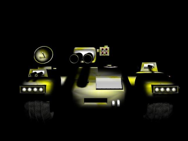 3d model of tank