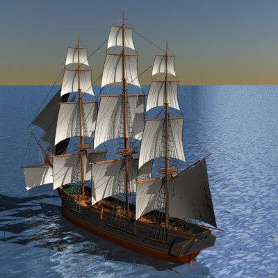 3d frigate constitution