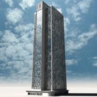 skyscraper 3d max