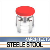 3ds js-dynamic steele stool design