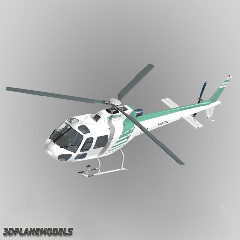 max eurocopter air green helicopters
