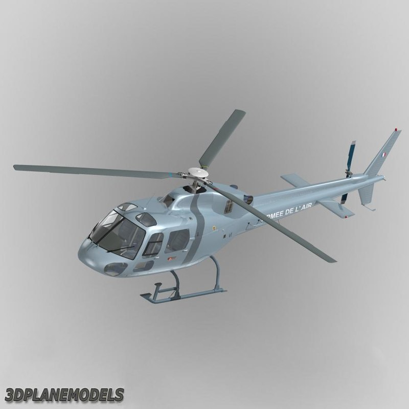 eurocopter french air force 3d 3ds