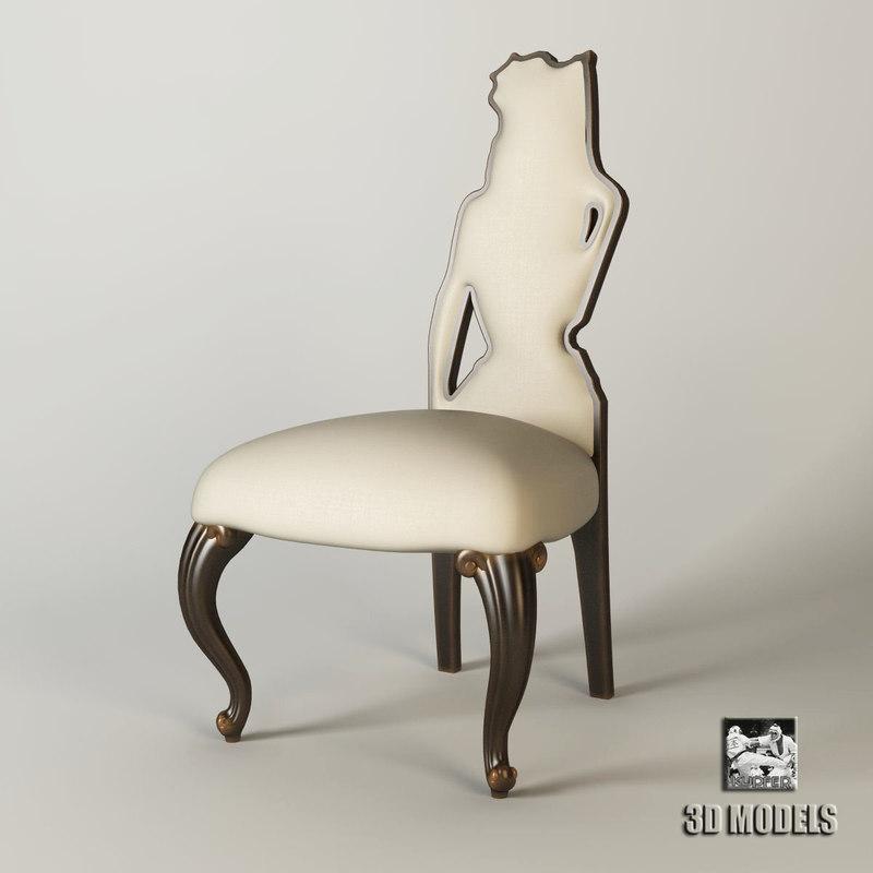 3d harrison gil chair