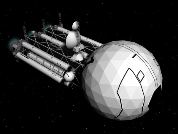 maya orbiter simulator concept