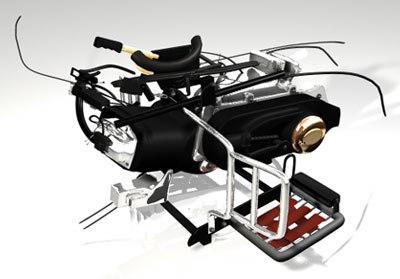 maya engine buggy atv vehicles