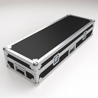 3d model keyboard flight case
