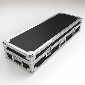 3d model keyboard flight case