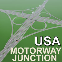Motorway Junction (US traffic signs)