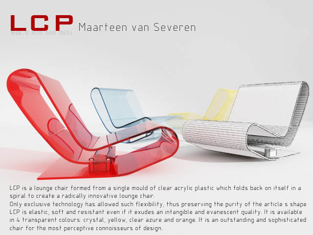 3d lcp chair model