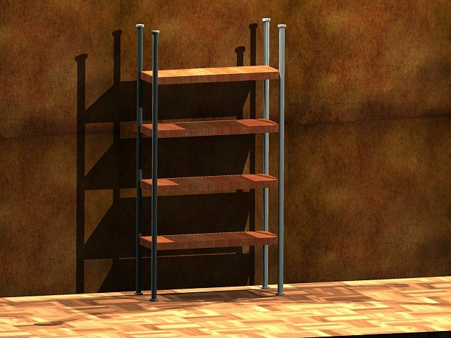 free dxf model office shelving