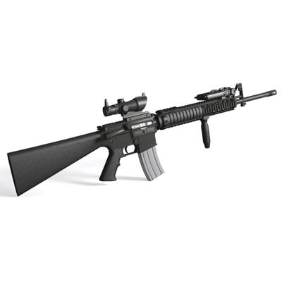 M16a4 Assault Rifle M16 3ds