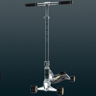 fuzion scooter 3d 3ds