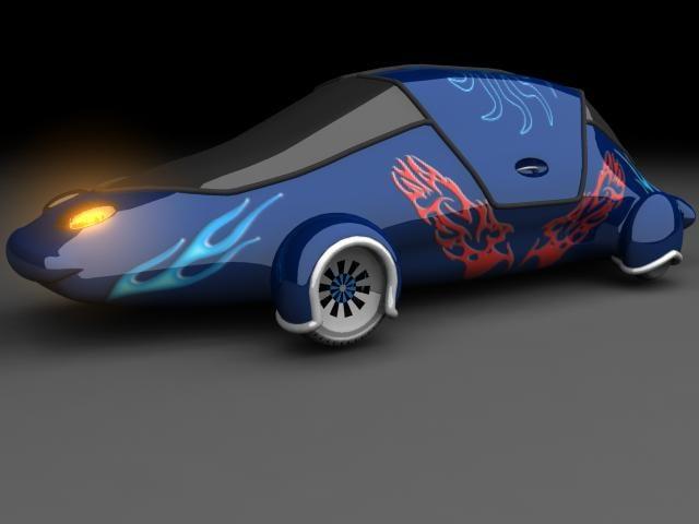 3ds max tms car01