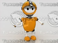 baby robo robot 3d model