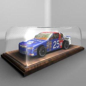 stock car 3d model