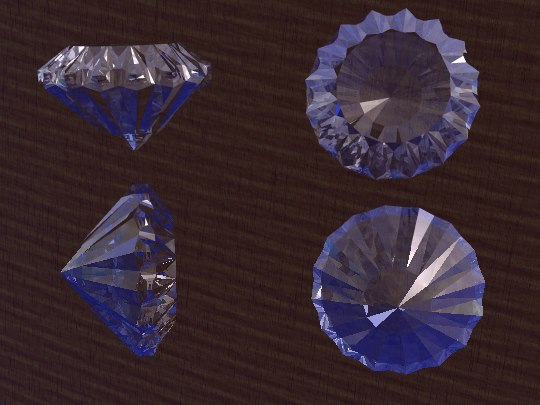 3ds max diamond brillant