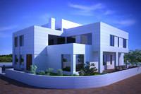 3d mediterranean house