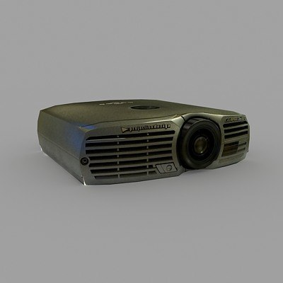 projector projection evo 3d max