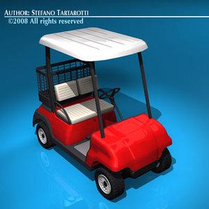 3ds 2 seats golf cart