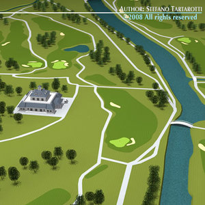 3ds golf course clubhouse