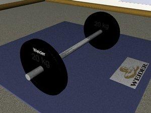 gym bar 3ds