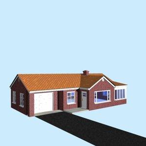 3d nicely house model