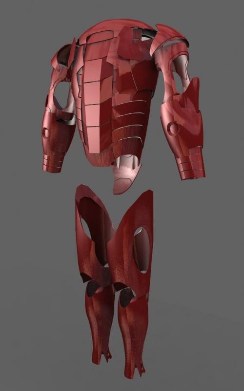 max armor iron man suit