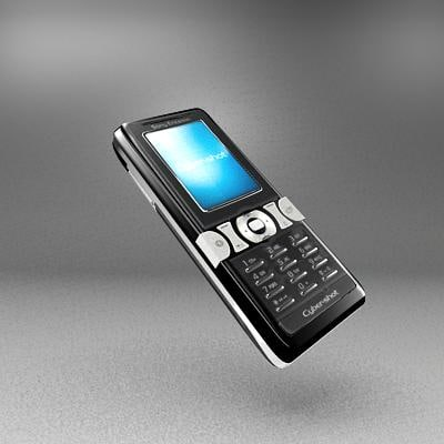 3d model sony ericsson k550i