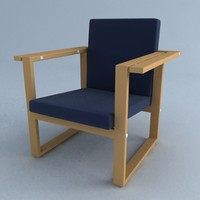lamino chair 3ds