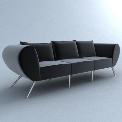 mojo chair hans 3d model