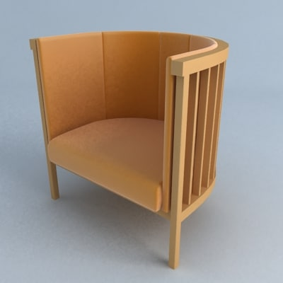 neptunus chair 3d model