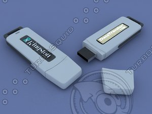 3d model pen drive