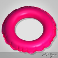 3d model of swimming ring
