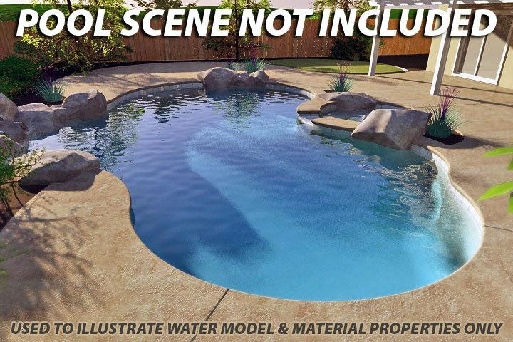 pools water swimming 3d model