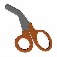 medical scissors 3ds