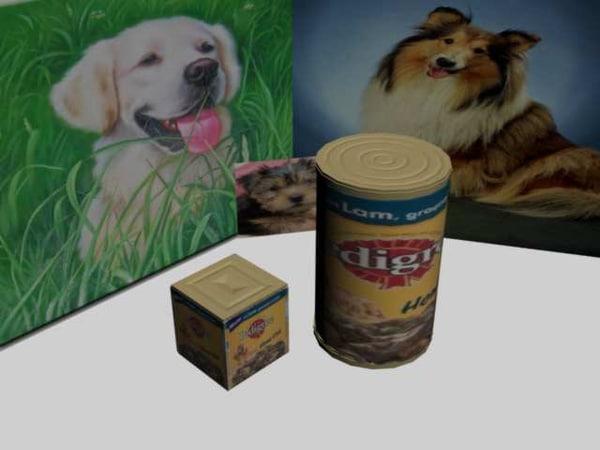dog food 3d max
