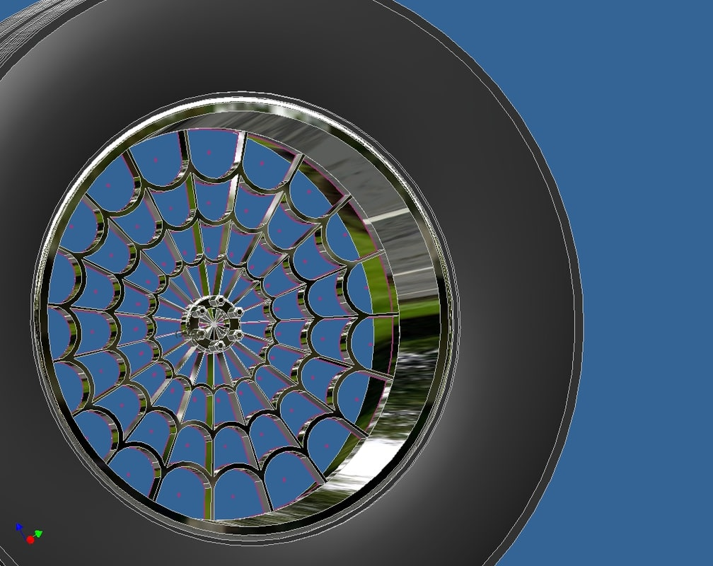 tire rim 3ds free