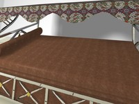 3ds max master bed
