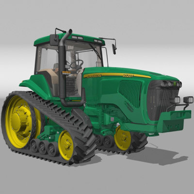 3d model tractor agrimotor