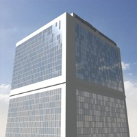 3ds max skyscraper